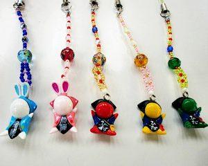 SARUBOBO beads-strap